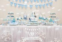 A&K Lolly Buffet {FROZEN Themed 1st Birthday Dessert Table} / http://aandklollybuffet.com.au/frozen-themed-5th-1st-birthday-dessert-table/