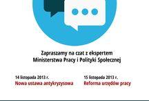 Czat z ekspertem MPiPS! / Na stronie Zielonej Linii w serwisie Facebook odbędą się czaty z ekspertami Ministerstwa Pracy i Polityki Społecznej. Na pytania internautów eksperci będą odpowiadać w czwartek i piatek, w godz. 11.00-13.00.