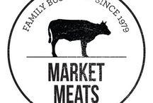 food market identity