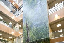 artwork in hospitals