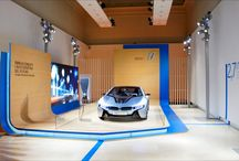 BMW exhibition stand