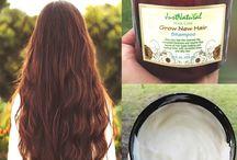 Shampoo for long hair / Shampoo for long hair