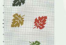 punto croce autunno