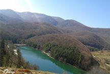 Lacul Golumbului din zona Anina (Caras-Severin)