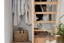 """♦ DRESSING / ORGANISER ♦ / Des inspirations et des """"trucs"""" pour ranger au mieux votre Dressing"""
