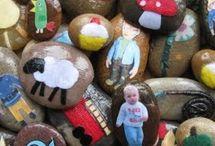 Kindergarten-Ideen mit Steinen
