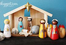 Christmas in July / Christmas crafts so you actually get them done before Christmas / by Janessa Jenkins