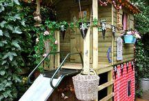 tuinhuis en boomhut