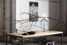 Spisebord - fra heltre til stål