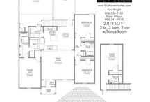 Floor Plans / Floor Plans that we are in LOVE with.