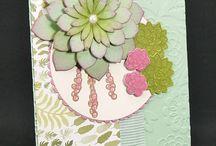 Cards - SU oh so succulent bundle