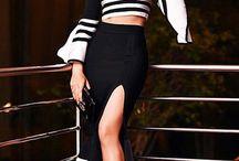 Little Black Dress / Classy sexy bandage dress, got it, flaunt it ! Every girls favourite....