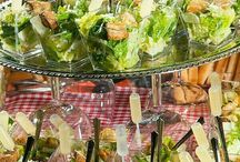 salads for party display