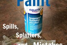 rubbing alcohol for paint remover
