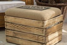 cajas / cajas de madera
