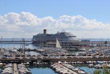 Kreuzfahrtschiffe / Mallorca gehört zu den Top Destinations für Kreuzfahrtreisen - hier kommen die grössten Cruisliner der Welt an
