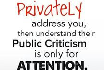 Attention seekers!