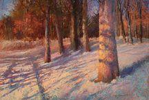 Pastel  - Landscape