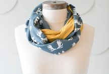 Buttercream Scarf Love / Fun, pretty patterned scarves made by Buttercream Clothing!