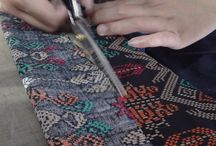 The Process of Making Batik