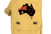 Australia Flag Map Products