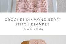 * Crochet blankets *