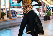 get the look - leopard print catsuit