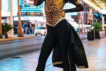 get the look - leopard print catsuit