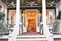 Dream front porch / by Hannah Willing