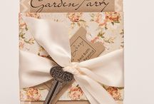 party stuff / garden party ideas, invitations and so