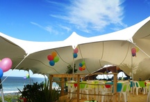 Private Parties  / If you think of the Stretch Tent as the best cover for your party, we've helped create some of the most memorable parties on the planet.  Now it's time to help you create the right atmosphere for your festivities - no matter where you're planning to play.