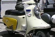 Classic scoters/mopeds / by colette Hall