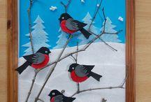 tél madarak