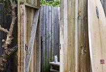 We ♥ Outside Showers / Our properties that let you shower under the sun or star light! Romantic, wild and refreshing!