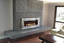 Tv/fireplace ideas