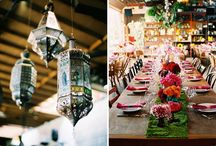 Moroccan themed flowers