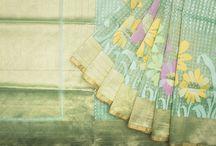 Banarasi Net/Net Tissue Saris