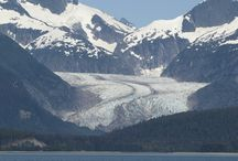 Alaskan Glaciers / Alaska is indeed the Last Frontier.  Kathy Slamp worked in Alaska for many years as a naturalist.  In this capacity, she became very knowledgeable about Alaska's countless glaciers.  And, as a shipboard naturalist, she has experienced some awesome glacier sitings.  Enjoy!