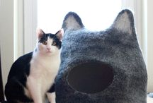 vilten kattenmand