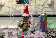 Elf On The Shelf at school