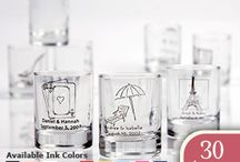 custom personalized shot glasses