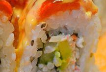 Sushi & finger foods