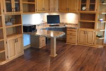 Laminate Flooring - Made in the USA / Laminate flooring for busy, high traffic areas of the home.