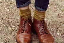靴下コーデ