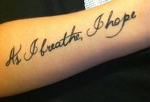 Tattoos / by Kristina Hackney