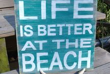 Life is better at the beach  / Beach Homes and style that I love / by Stacy
