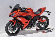 Kawasaki Ninja 650 2017 by Ermax Design / Windshield and accessories