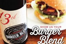 Show Us Your Burger Blend Photo Contest / Post a picture of how you enjoyed your Burger Blend (what did you pair it with, where did you enjoy it, who were you with) and you could win a Burger Blend prize package courtesy of 13th Street Winery, 13th Bakery and VG Meats. #RespectYourBurger