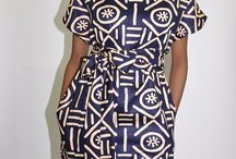 African prints clothing / Designers