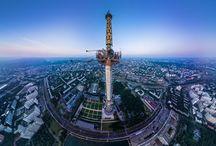 radio TV towers